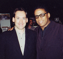 Michael with Herbie Hancock